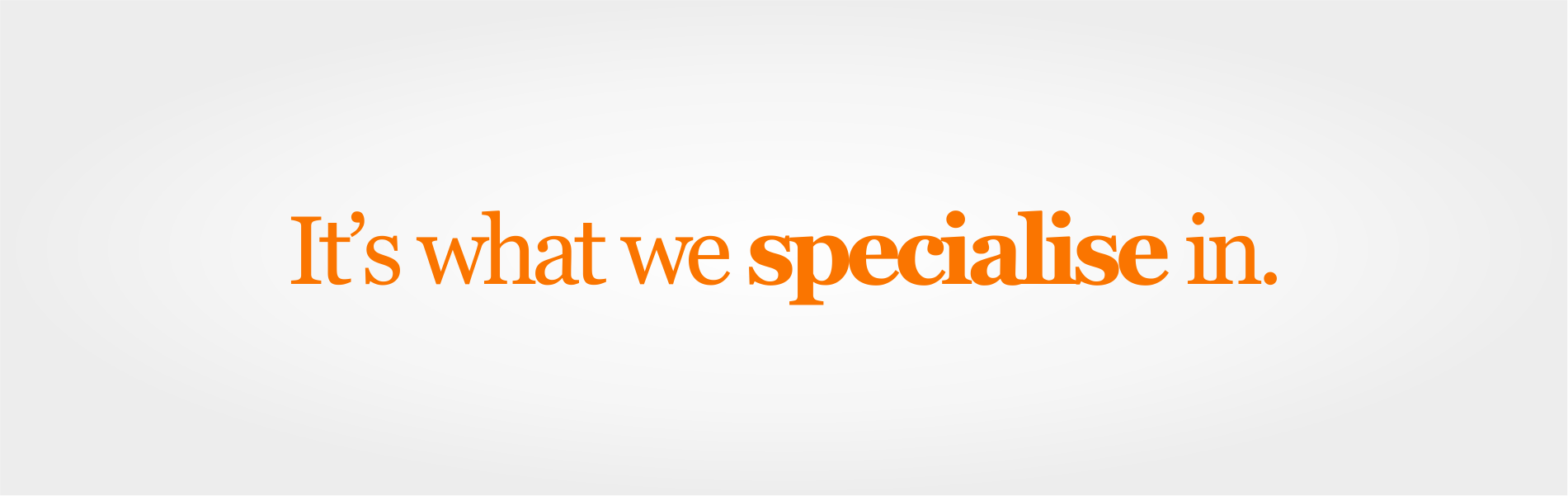 it support speciality slider image